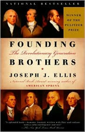 Founding Brothers - Cover art for the hardback edition