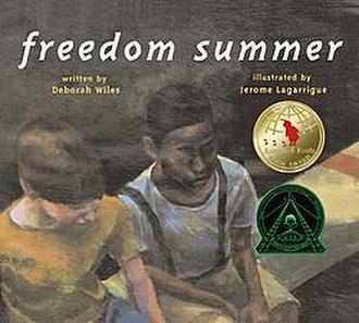 Freedom Summer (book) - Image: Freedomsummerbook