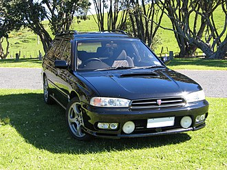 Subaru Legacy (second generation) - GT-B Limited Twin Turbo