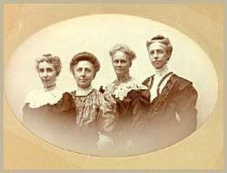 Gamma Phi Beta - Founders of Gamma Phi Beta