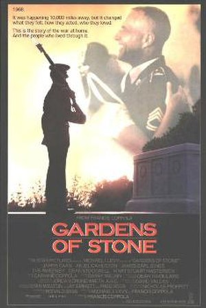 Gardens of Stone - Theatrical release poster