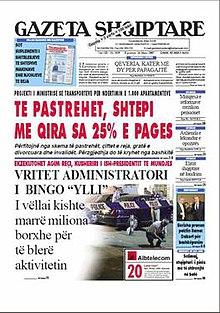 Gazeta Shekulli Online Ebook
