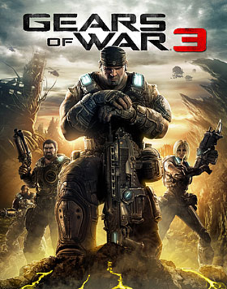 Gears of War 3 - Image: Gears of War 3 box artwork