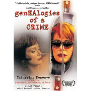Genealogies of a Crime - Image: Genealogies of a Crime DVD cover