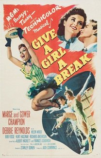 <i>Give a Girl a Break</i> 1953 film by Stanley Donen