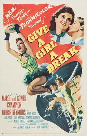 Give a Girl a Break - Promotional movie poster for the film