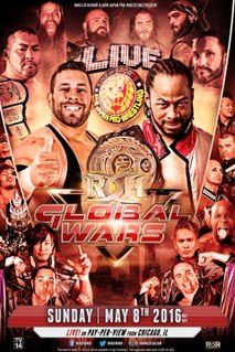 Global Wars (2016) 2016 New Japan Pro-Wrestling pay-per-view event