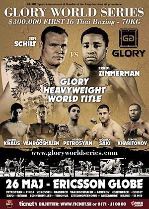 2012 in Glory - Image: Glory 1 Stockholm poster