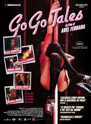 Go Go Tales - Theatrical release poster