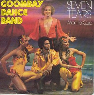 """Goombay Dance Band - Goombay Dance Band on the cover of their 1981 single """"Seven Tears"""""""