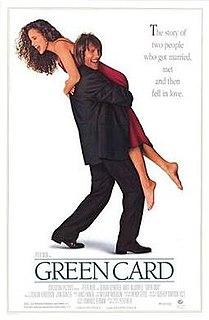 <i>Green Card</i> (film) 1990 film by Peter Weir