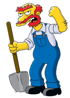Groundskeeper Willie Fictional character from The Simpsons franchise