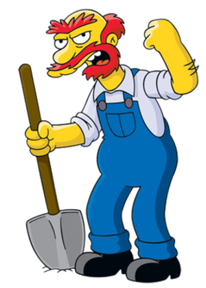 Groundskeeper Willie - Image: Groundskeeper Willie