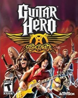 <i>Guitar Hero: Aerosmith</i> video game