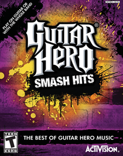 <i>Guitar Hero Smash Hits</i> video game