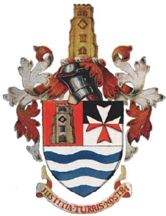 Metropolitan Borough of Hackney - Arms of the metropolitan borough