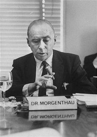 Hans Morgenthau - Morgenthau in 1963