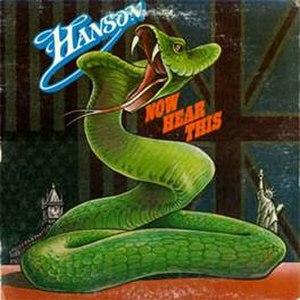 Hanson (UK band) - Image: Hansen Now Hear This album cover