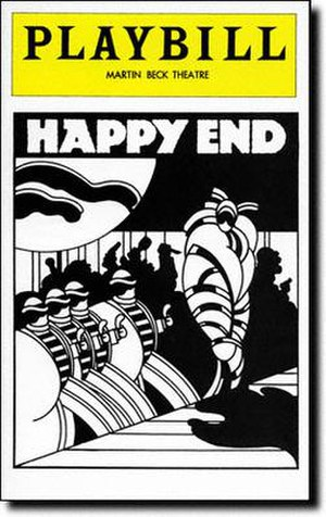 Happy End (musical) - 1977 Broadway Playbill