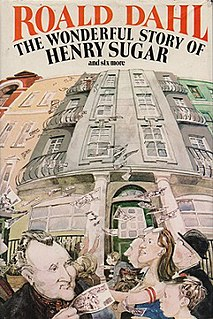 <i>The Wonderful Story of Henry Sugar and Six More</i> short story collection