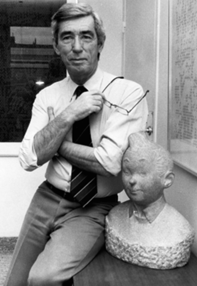 Picture of an author: Hergé