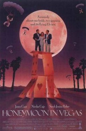 Honeymoon in Vegas - Theatrical release poster