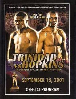 Bernard Hopkins vs. Félix Trinidad Boxing competition