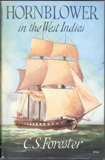 <i>Hornblower in the West Indies</i> book by C.S. Forester