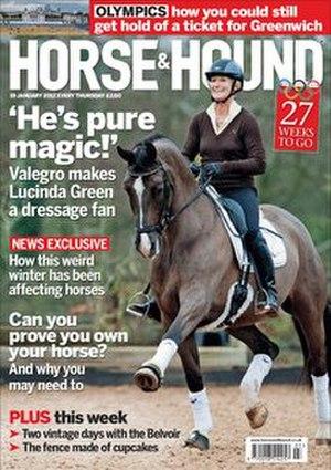 Horse & Hound - Image: Horse & Hound (magazine)