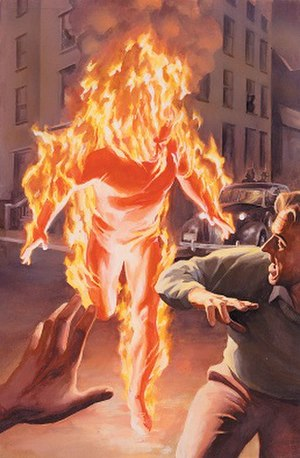 Human Torch (android) - Image: Human Torch (Marvels 1 1994)