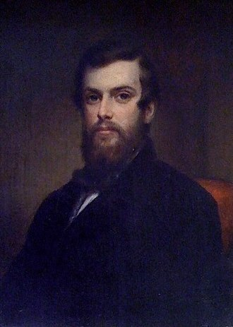 Daniel Huntington (artist) - Huntington's portrait of David Olifant Vail (1834-1865). Private collection