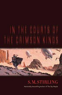 <i>In the Courts of the Crimson Kings</i> novel by S. M. Stirling