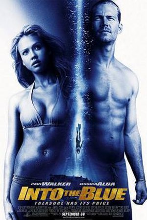 Into the Blue (2005 film) - Theatrical release poster