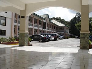 University of the Philippines Baguio - U.P. Baguio Administration Hall Lobby  (Iskolar ng Bayan Hall)