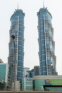 JW Marriott Marquis Dubai twin towers in Dubai