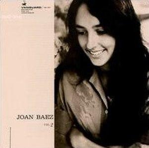 Joan Baez, Vol. 2 - Image: Joanbaezvol 2