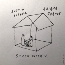 Justin Bieber and Ariana Grande - Stuck with You.png