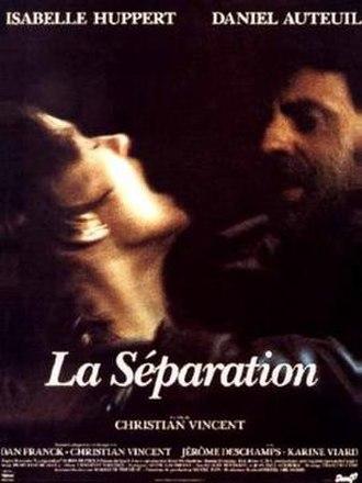 La Séparation - Film poster