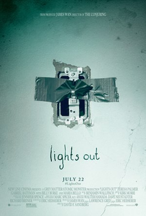 Lights Out (2016 film) - Theatrical release poster