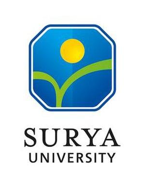 Surya University - Image: Logo Surya University