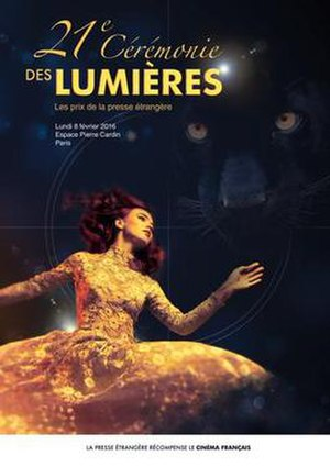 21st Lumières Awards - Official poster