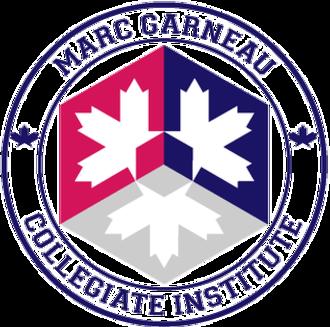 Marc Garneau Collegiate Institute - Image: MGCI Emblem 2