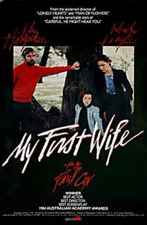 My First Wife - Promotional poster