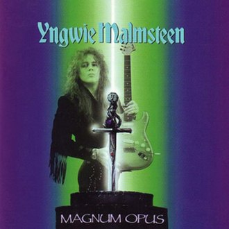 Magnum Opus (Yngwie Malmsteen album) - Image: Magnum Opus (Malmsteen)