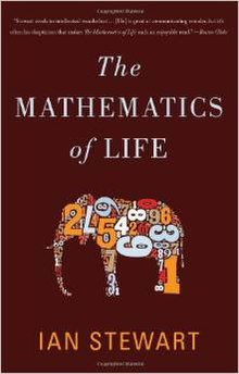 Book cover, The Mathematics of Life