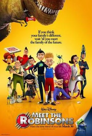 Meet the Robinsons - Theatrical release poster