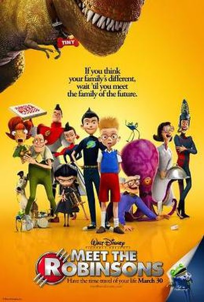 Picture of a movie: Meet The Robinsons