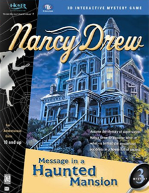 Nancy Drew: Message in a Haunted Mansion - Image: Message in a Haunted Mansion Coverart
