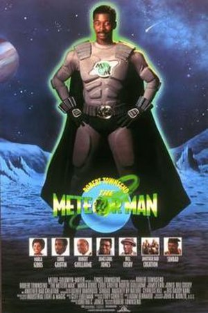 The Meteor Man (film) - Theatrical release poster