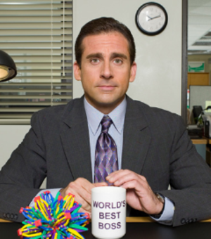 Michael Scott (The Office) - Image: Michael Scott